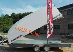 Locations Remorques Kg BSM Remorques Et Locations - Location de porte voiture